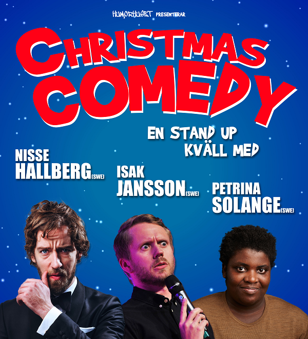 Christmas Comedy - En stand up kväll