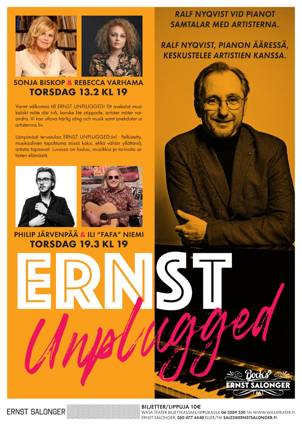 ERNST UNPLUGGED