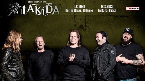 Live Nation proudly presents: TAKIDA