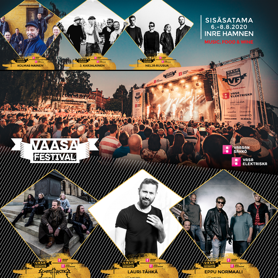 Vaasa Festival - Music, Food & Wine Perjantai