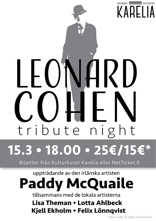 Leonard Cohen - Tribute night