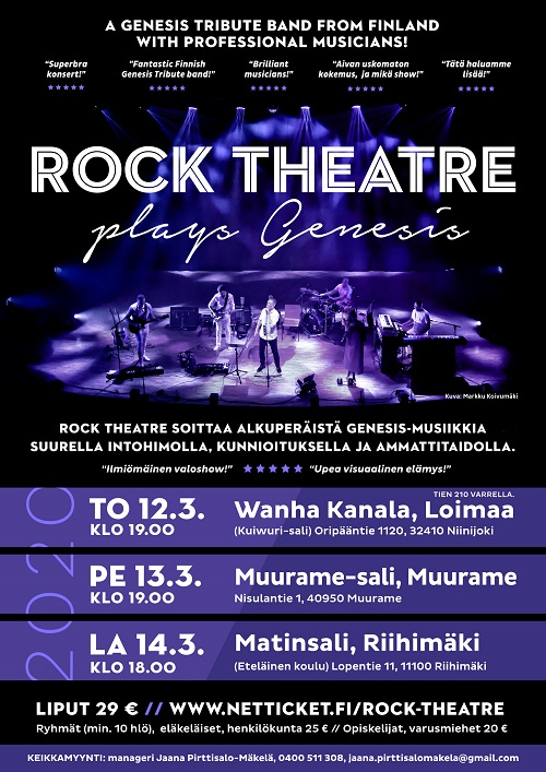 Rock Theatre Plays Genesis